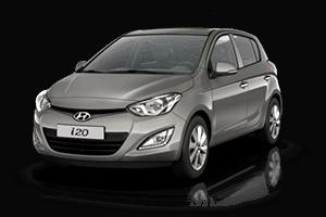 arac hyundai i20 Kıbrısta 2014 Hyundai i20 Araç Kiralama