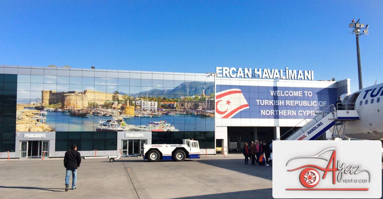 ercan havalimanına nasıl ulaşılır