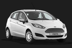 ford fiesta beyaz Kıbrısta 2016 Ford Fiesta Araç Kiralama