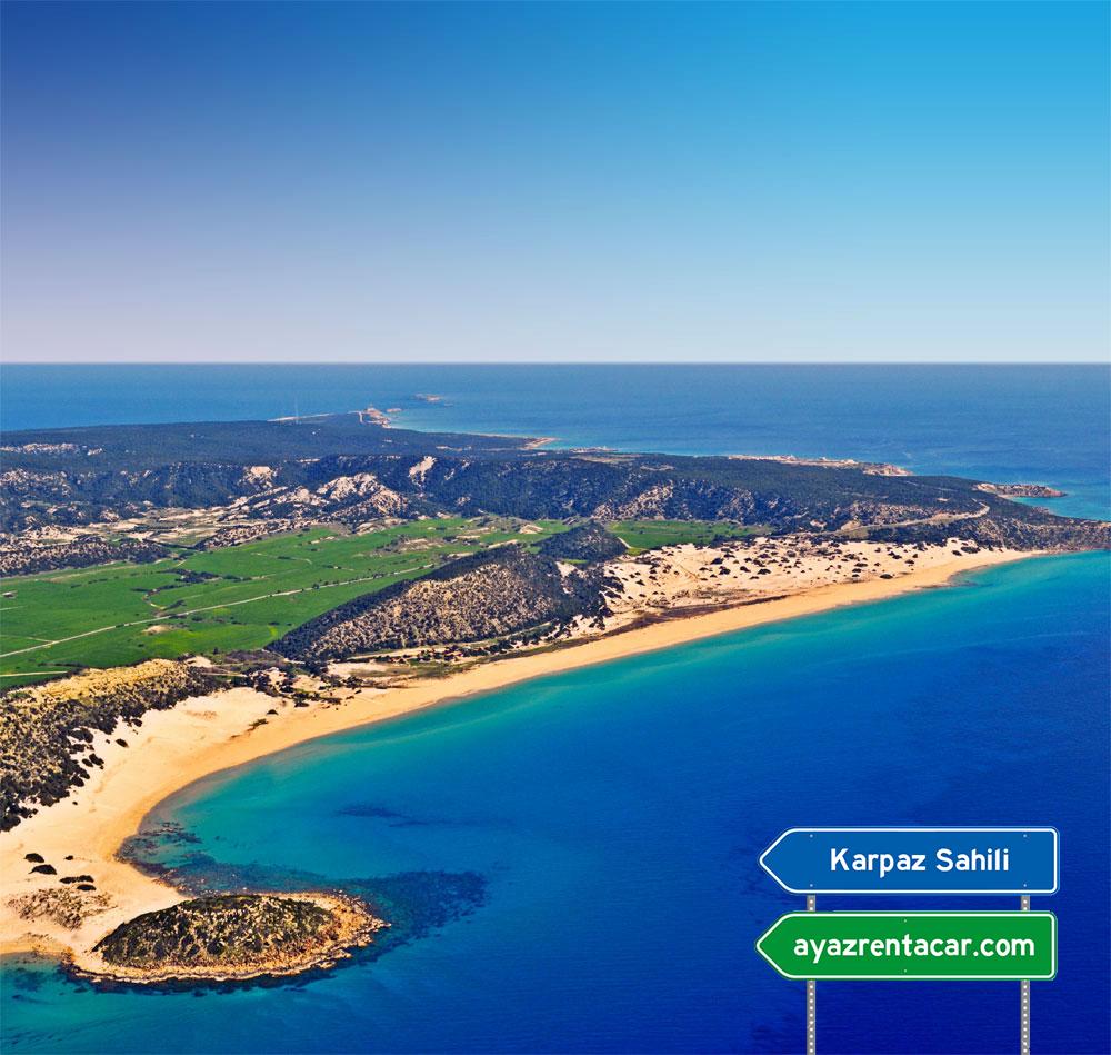 karpaz beach Kıbrıs Uçak Bileti