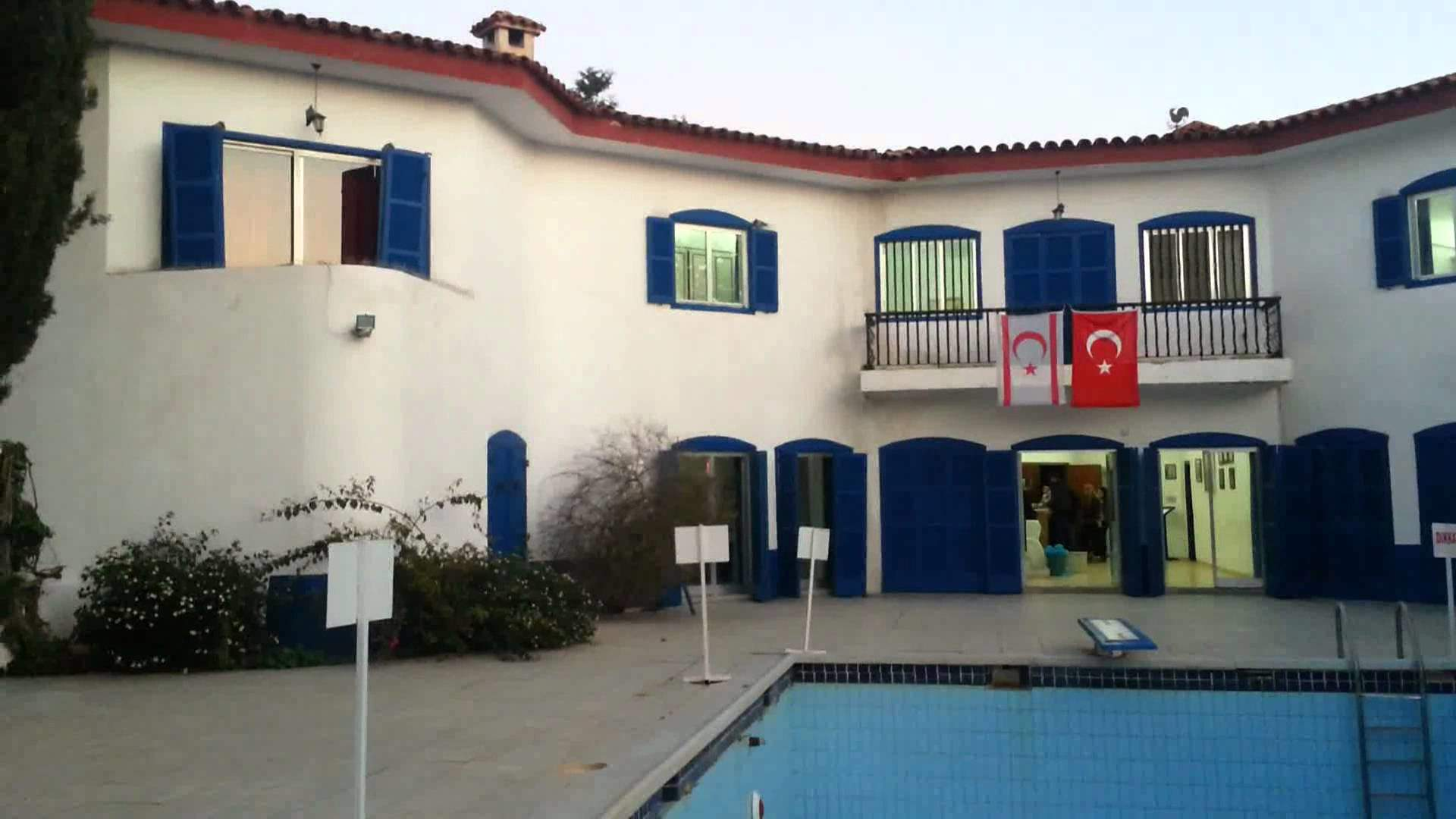 mavi köşk Kıbrıs