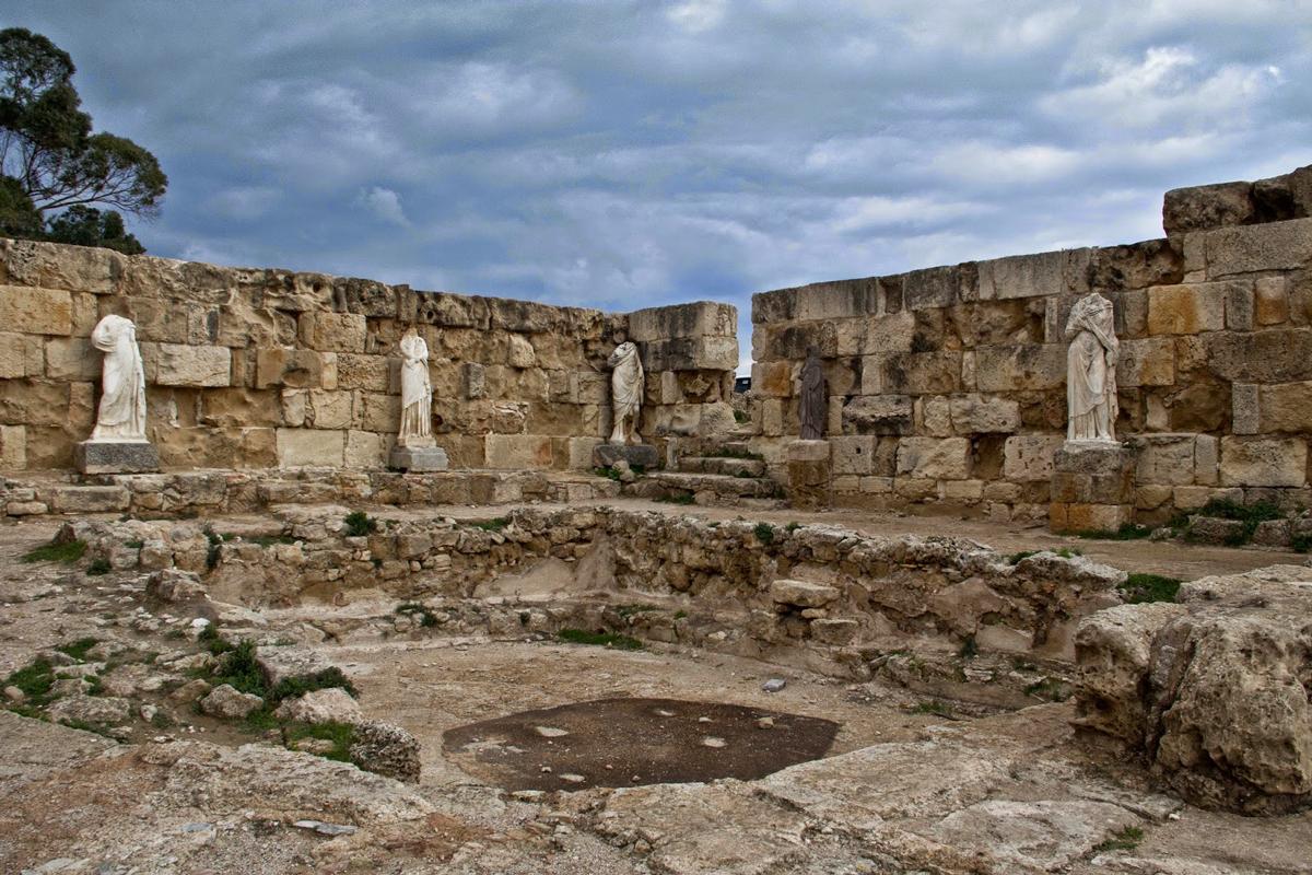 salamis harabeleri kibris 2 Kıbrıs Salamis Harabeleri