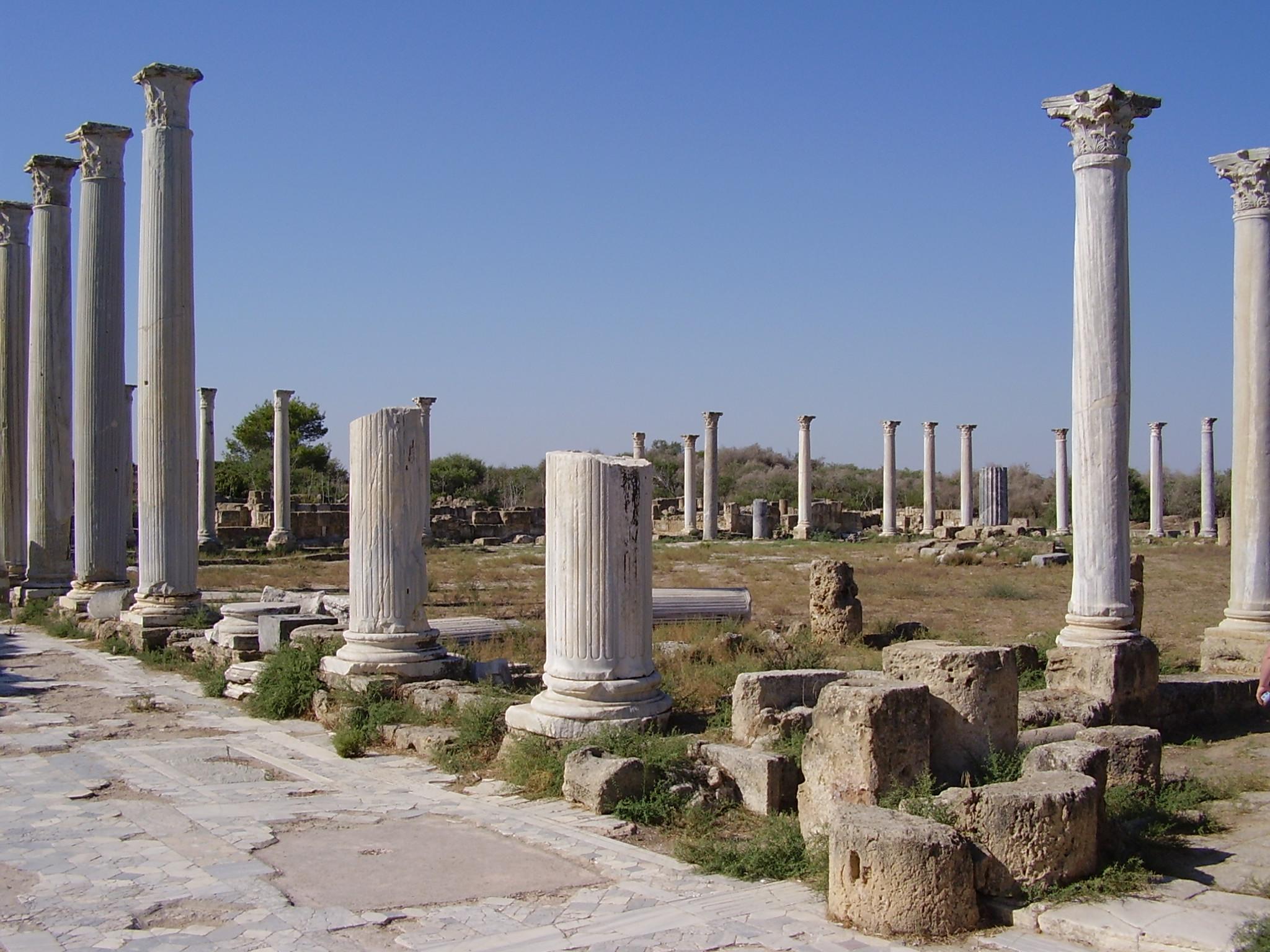 salamis harabeleri kibris 4 Kıbrıs Salamis Harabeleri