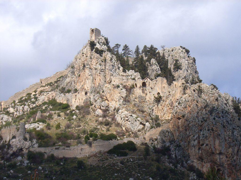 st hilarion 2 Kıbrıs St. Hilarion Kalesi